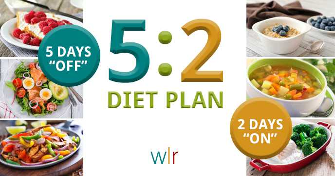 The 5:2 Diet Plan: Complete Meal Plans for 7 Days