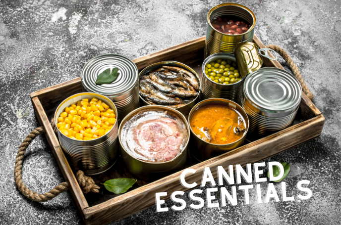 Slimmer's Shopping - Canned Essentials