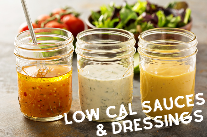 Low Calorie Dressings and Sauces
