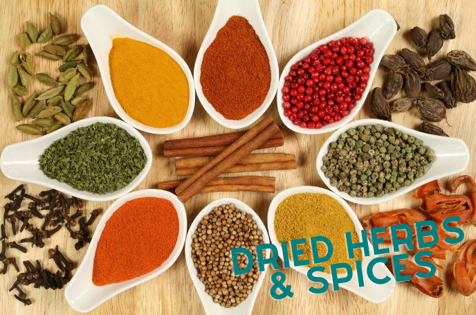 Herbs and Spices - Slimmer's Essentials
