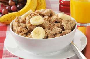 Shredded Wheat with Banana