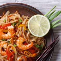 Spicy Tiger Prawn Stir Fry