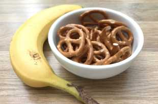 Banana and Pretzels