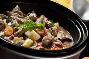 Slow Cooker Beef Casserole Recipe