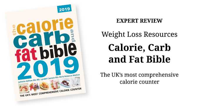 Calorie Carb and Fat Bible