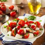 Caprese Salad <sub>(Tomato, Basil and Mozzarella)</sub>