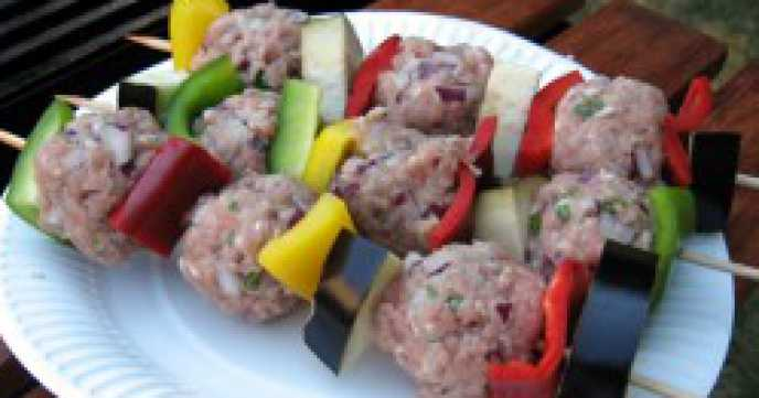 Chicken Mince Kebabs