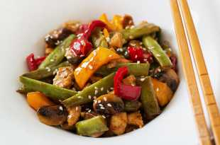 Hoi Sin Chicken and Vegetable Stir-Fry