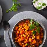 Chickpea & Sweet Potato Curry