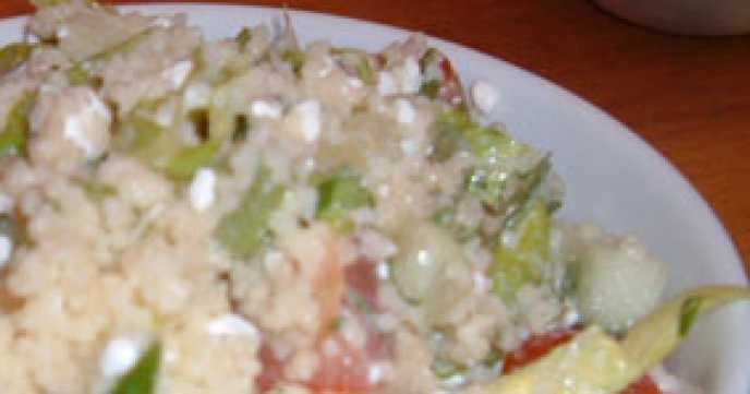 Cous Cous and Cottage Cheese Salad