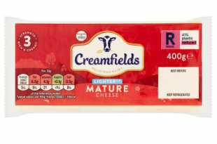 Creamfields Lighter Mature Cheese