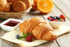 Croissant with Summer Berries - Weight Loss Resources