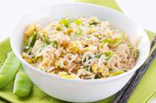 Egg Fried Rice with Sugar Snap Peas - Weight Loss Resources