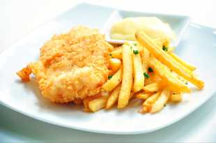 wlr's Quick and Easy Cod and Chips