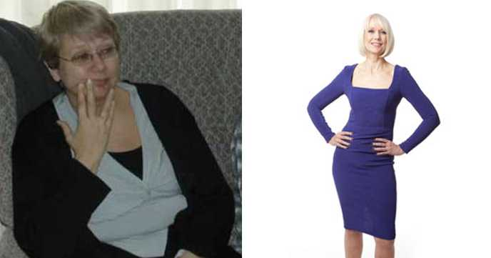 Joanna's reached her 10 stone goal weight - despite an under active thyroid!