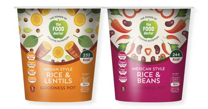 Food Doctor Rice Goodness Pots