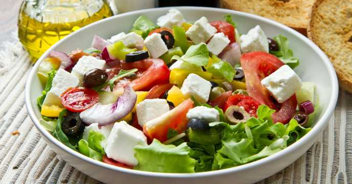 Greek Salad Recipe Calories