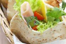 Ham and Salad Pitta - Weight Loss Resources