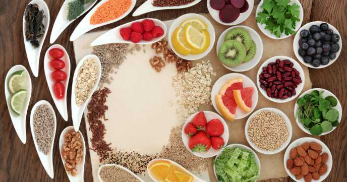 Good sources of high fibre foods