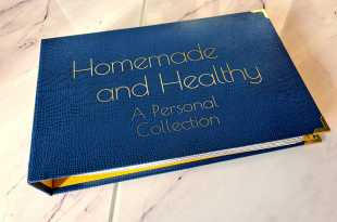 WLR Homemade and Healthy Recipe Binder