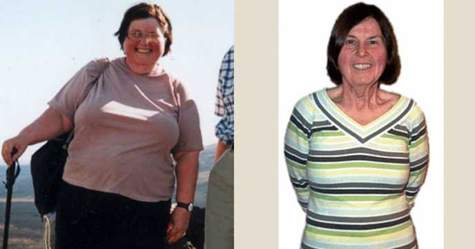 Mary's Fantastic Before and After 7 Stone Weight Loss Photos