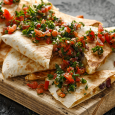 Kicking Chicken Quesadillas