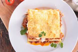 Low Fat Beef Lasagne