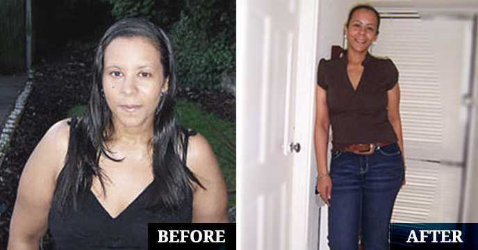 Lisa's Before and After Calorie Counting Success Photos