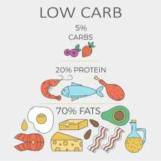 Low Carb Diet Food Pyramid