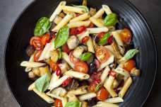 Roasted Mediterranean Vegetable Pasta - Weight Loss Resources - Dinner Day 2