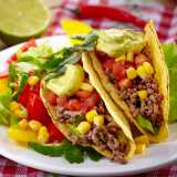 Tasty Mexican Beef Tacos
