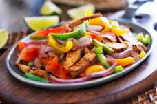 Sizzling Chicken Fajitas - Weight Loss Resources