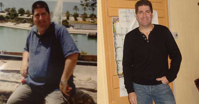 Mike's Healthier Lifestyle Weight Loss Success
