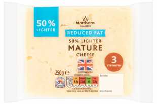 Morrisons Eat Smart 50% Reduced Fat Mature Cheddar