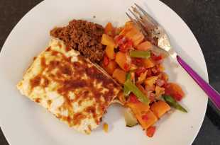 Muscle Food Beef Lasagne