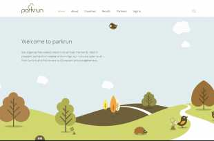 parkrun website