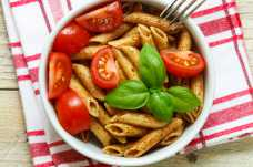 Pasta with Pesto and Tomatoes - Weight Loss Resources