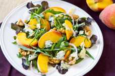 Peach, Stilton and Walnut Salad - Weight Loss Resources