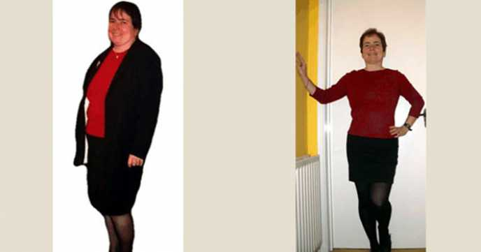 Rachael's 3 Stone Weight Loss Success Story