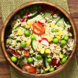 Rice, Pea and Corn Salad