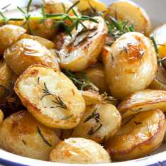 Skinny Roast Potatoes