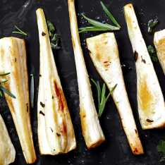 Roasted Maple Parsnip