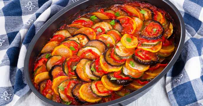 Rustic Baked Ratatouille