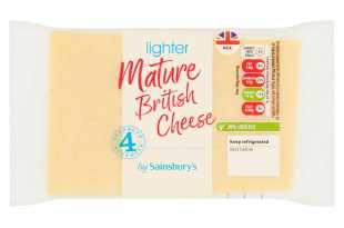 Sainsbury's Lighter Mature Cheese