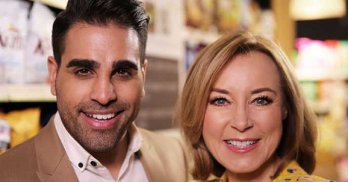 Save Money Lose Weight Presenters Dr Ranj Singh and Sian Williams