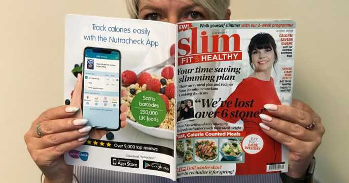 Slim, Fit and Healthy Magazine