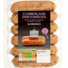 Cumberland Shroomdogs - Sainsburys Love Your Veg