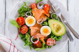 Smoked Salmon, Avocado and Egg Salad