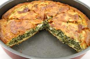 Spanakopita - Spinach and Feta Pastry (Eat Less Meat)