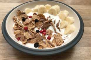 Special K Nourish with Milk and Banana